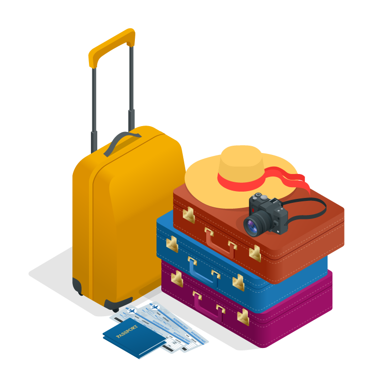 International relocation abroad luggage